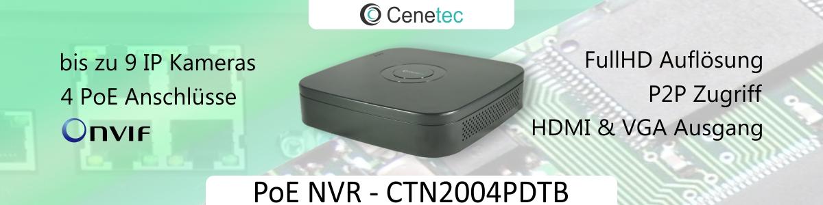 PoE NVR CTN2004PDTB